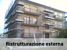 ristrutturazione esterna